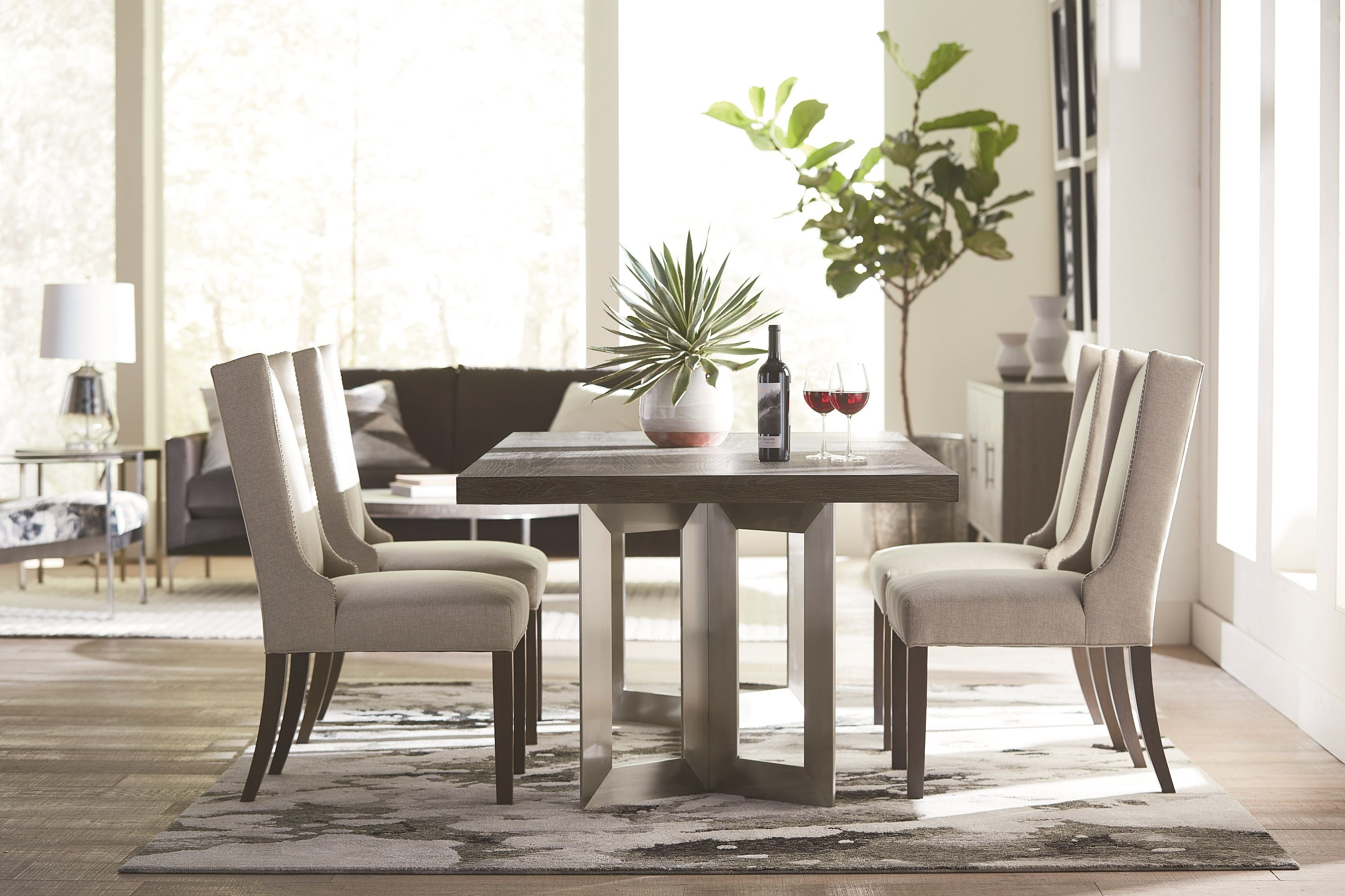 Modern Astor Dining Table Concrete Dining Table Furniture Fine