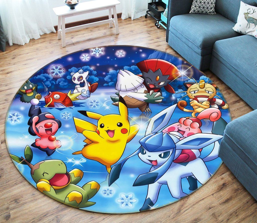 Anti Slip Mat Slaapkamer 3d Pocket Monsters 57 Anime Non Slip Rug Mat Alexis Pokemon