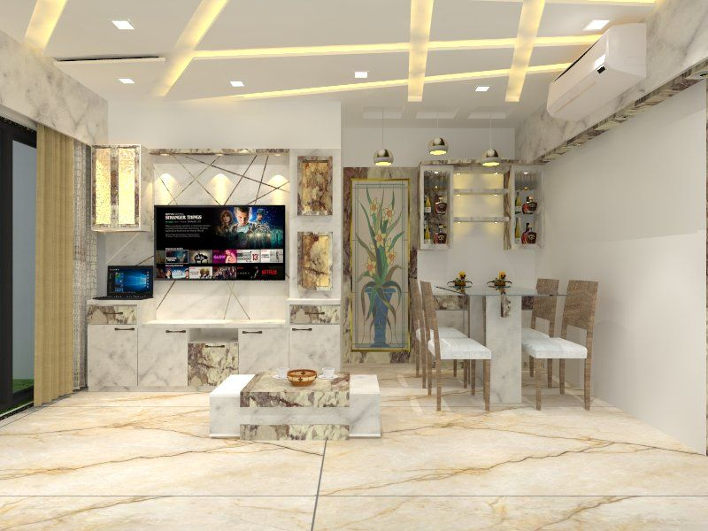 1 Bhk Flat Interior Design Cost Livingroom Ceiling Design Living Room Modern Tv Unit Designs Flat Interior Design