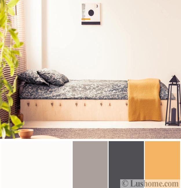 Modern Bedroom Color Schemes, 25 Ready To Use Color Design ...