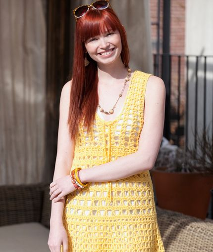 South Beach Cover Up... Red Heart brand. Free downloadable pattern ...