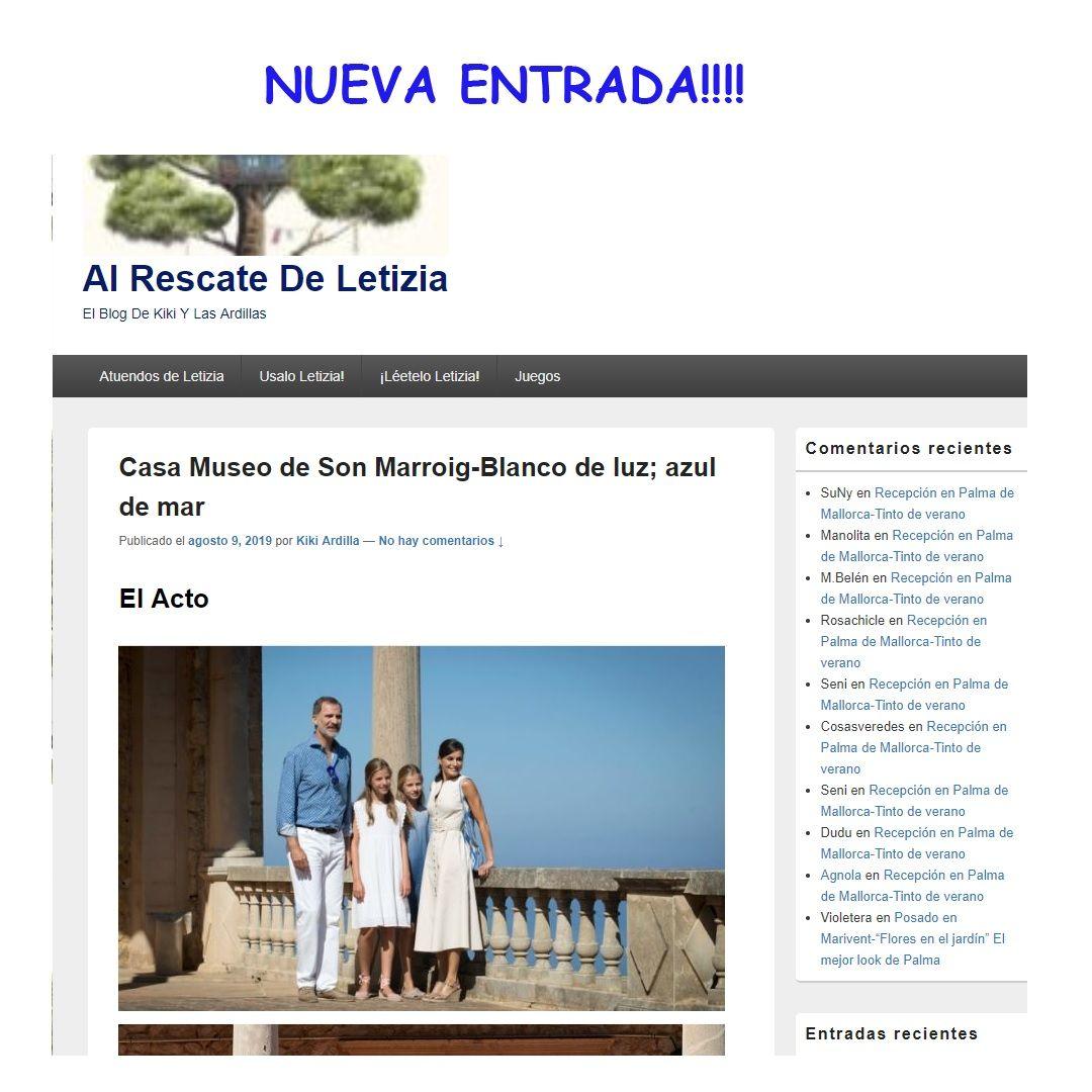 Pin De Ardillas Letizinas En Posts En Atuendos De Letizia Casa Museo Los Reyes De España Imágenes De Verano