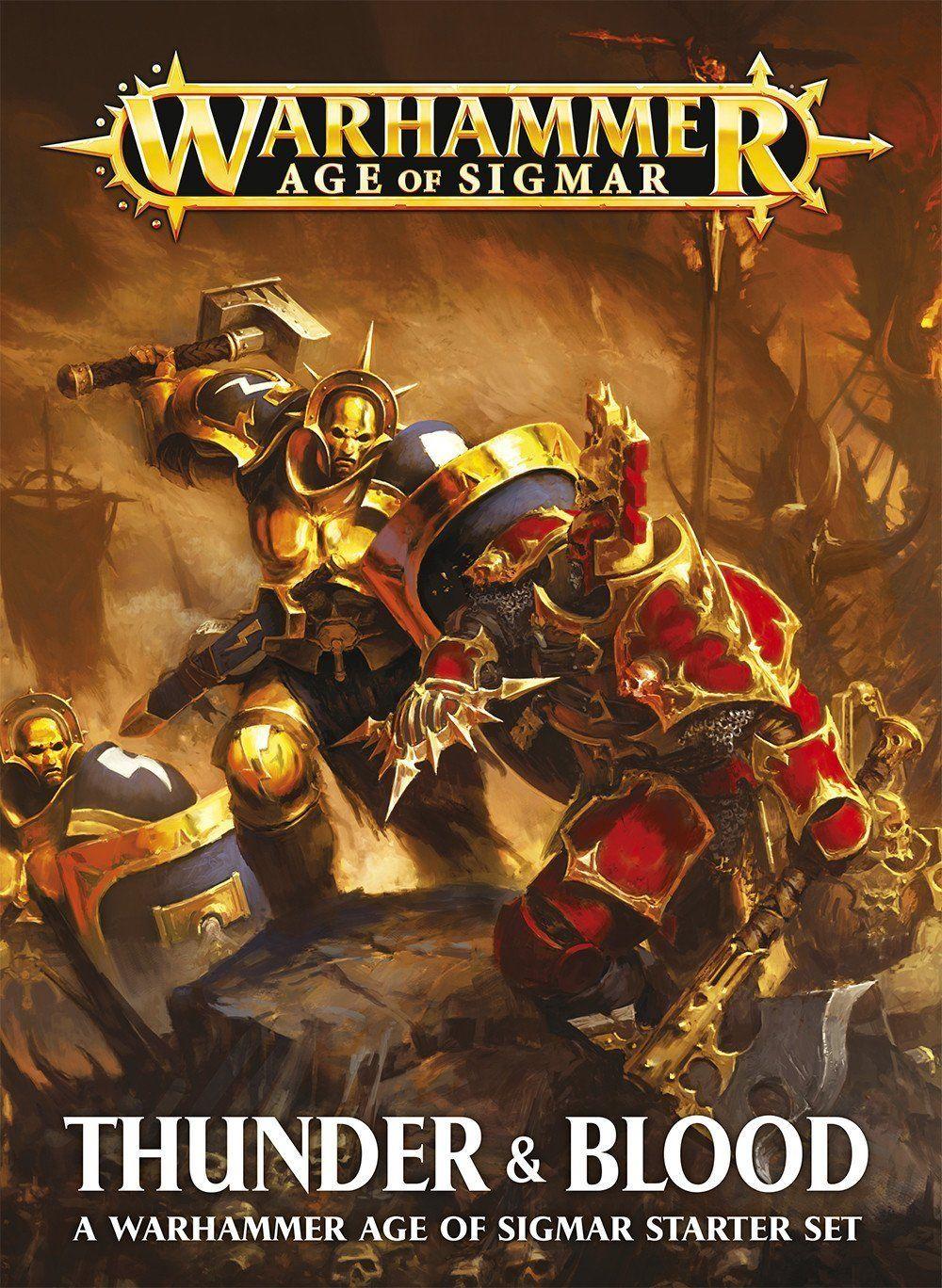 Thunder Blood A Warhammer Age Of Sigmar Starter Set Game