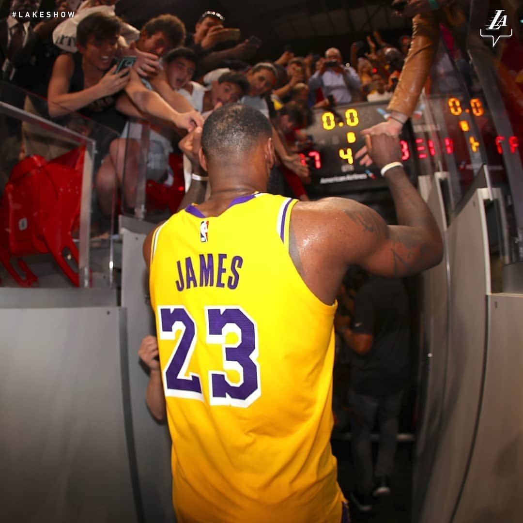 Los Angeles Lakers On Instagram The Purple And Gold Wins This One Lebron Was An Enormous Part Of Tonight S Win Dishing Out Los Angeles Lakers Lakers Lebron