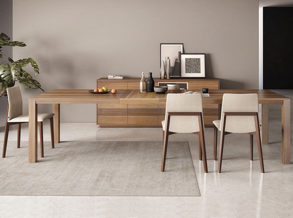 Extendable Dining Table Fly By Huppe 3 110 00 Modern Dining