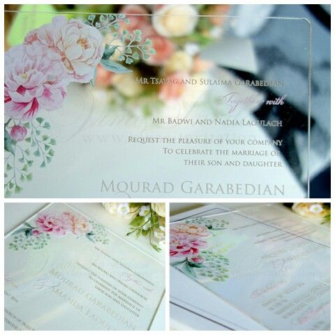 Vinas invitation Wedding invitation Wedding invitation surabaya - wedding invitation design surabaya