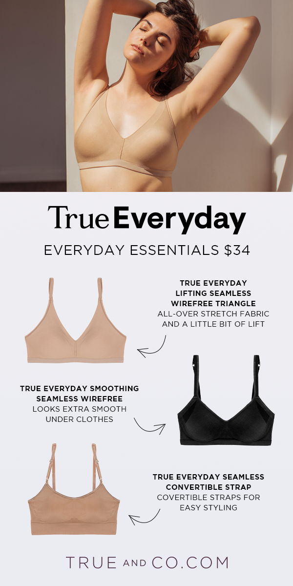b5a88f773478f Seamless Essentials.  34. Everyday essential bra styles that smooth and  support