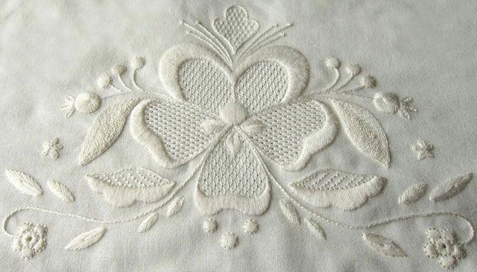 Вышивка белая гладь как украшение одежды рекомендации