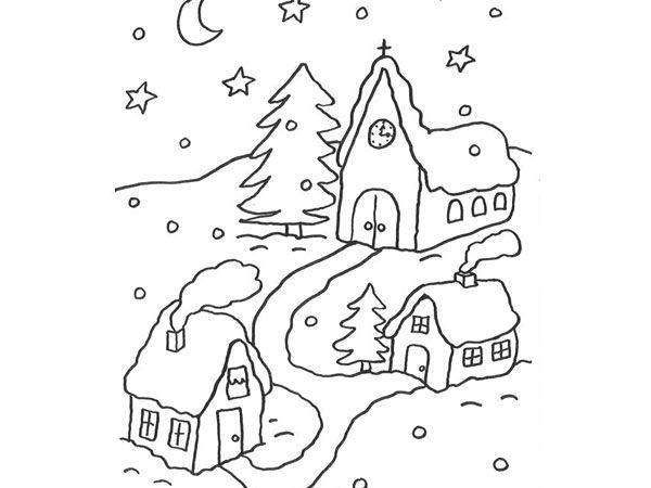 Coloriages d'hiver | Coloriage, Coloriage enfant, Bonhomme de neige