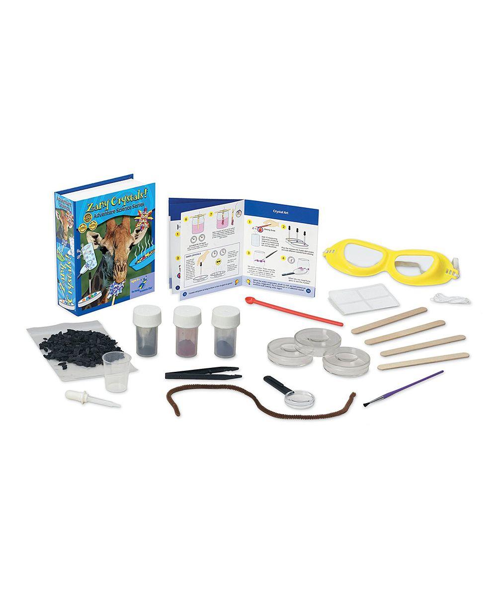 Zany Crystals Science Kit