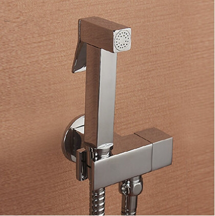 53.99$  Buy now - http://alix5v.worldwells.pw/go.php?t=1740845623 - Bathroom shattaf bidet shower set bidet faucet Women PP wash spray gun bidet shower set sprayer bidet shower set