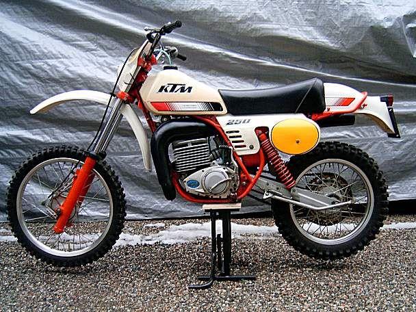 1980 Ktm 250 Gs Ktm Ktm Enduro Adventure Bike