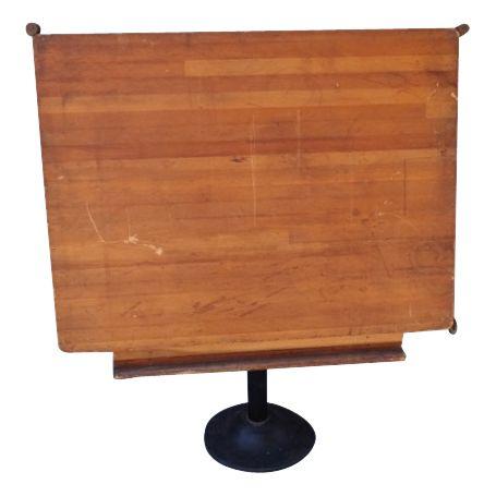 Pedestal Drafting Table   $1500.