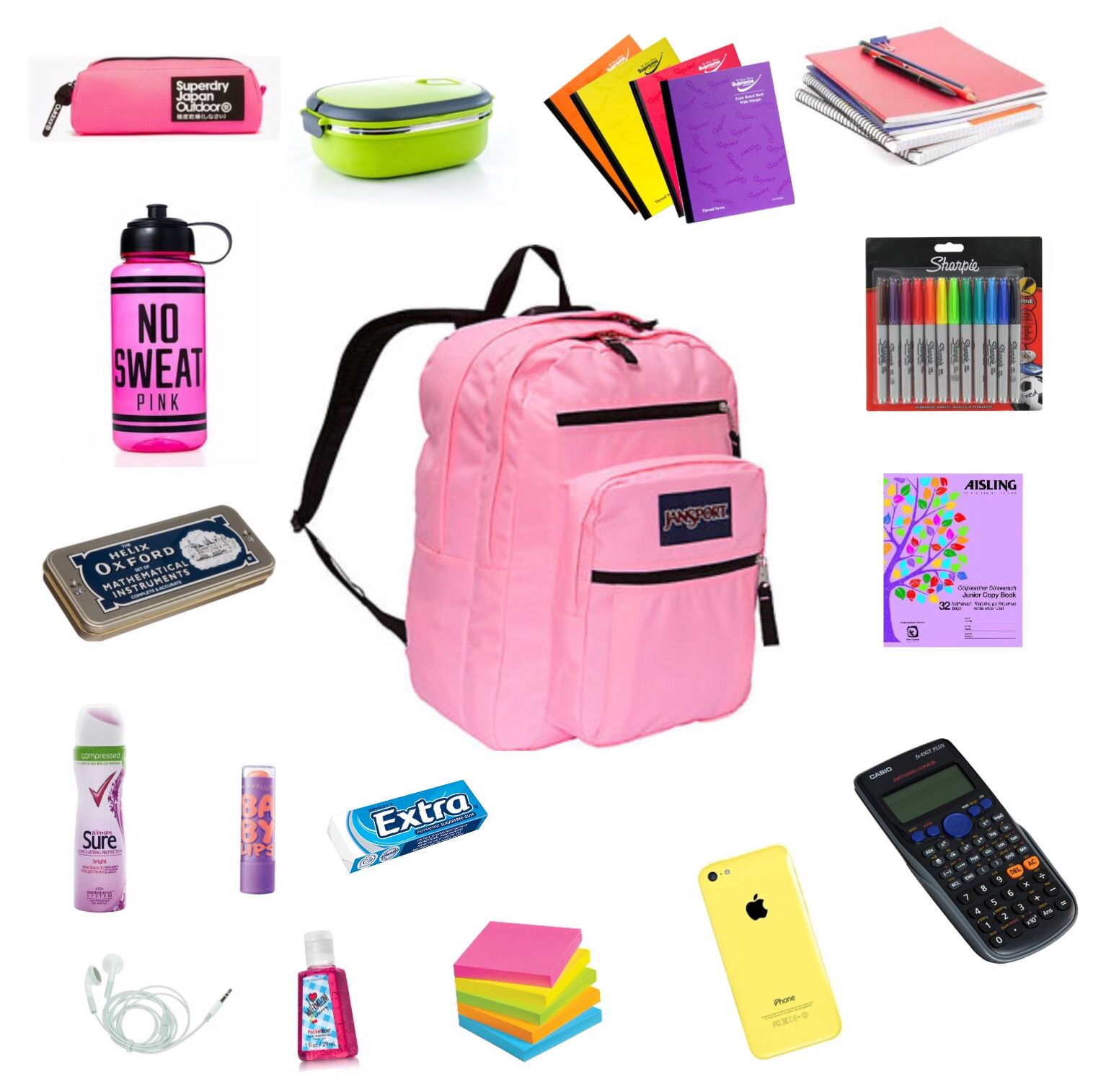 What I Have In My School Bag In Secondary School