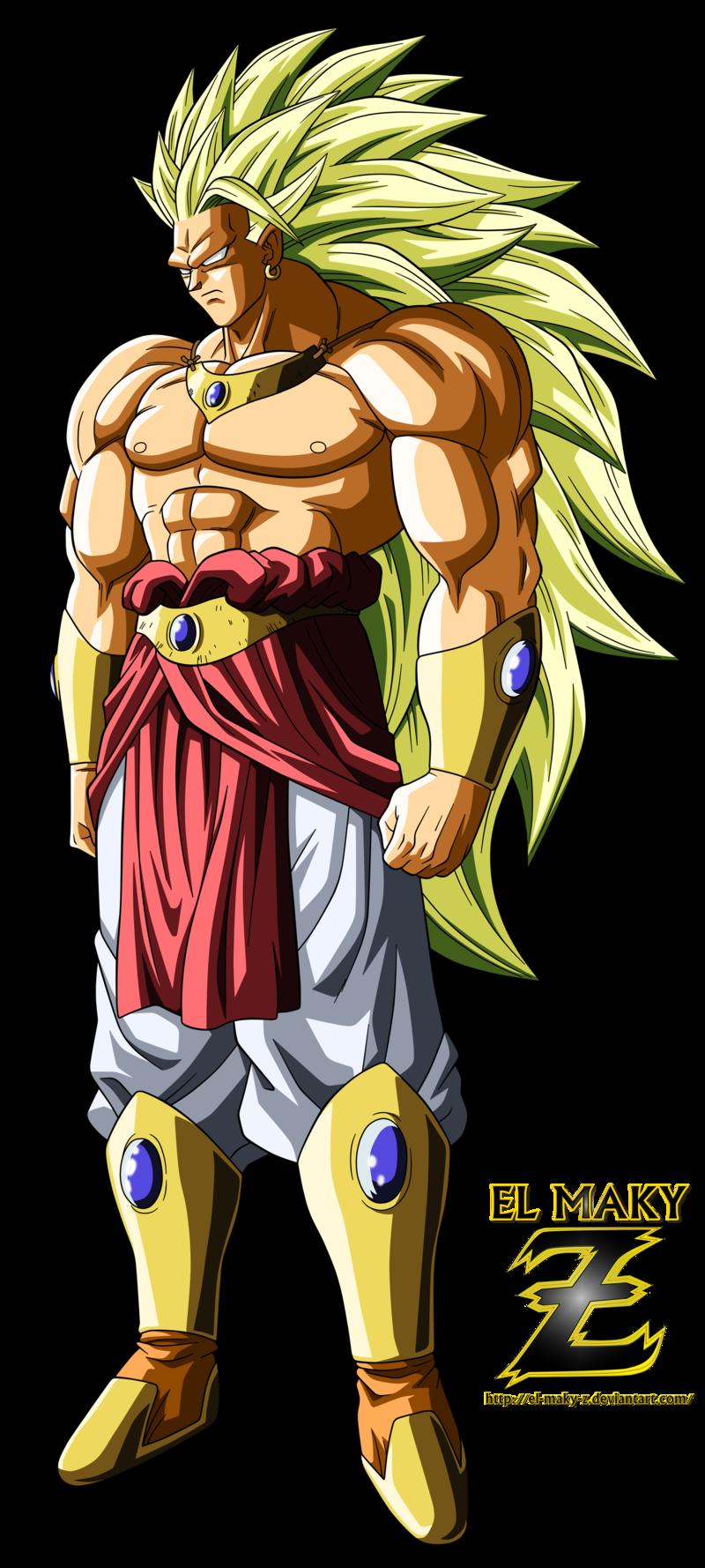Broly Legendary Super Saiyan 3 by el-maky-z.deviantart.com ...