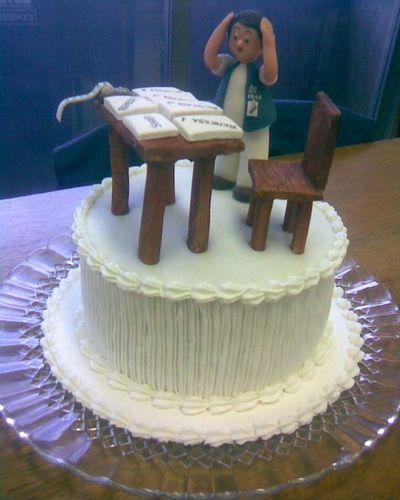 Minibolo meu chefe - mini cake my boss | Flickr - Photo Sharing!