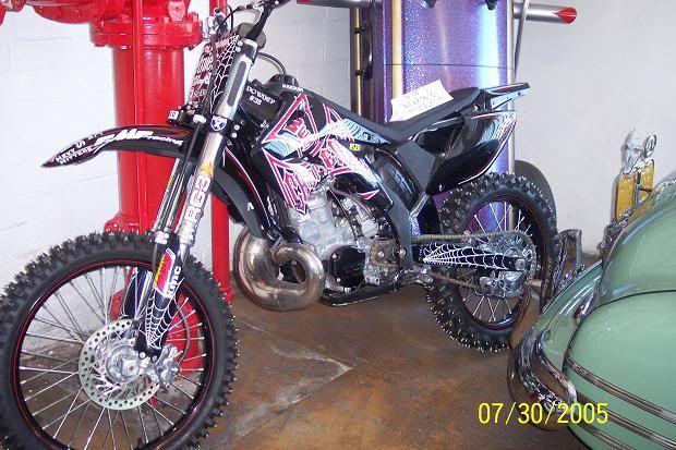 WCC Dirt Bike
