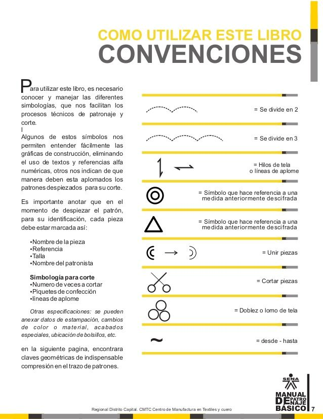 Manual de patronaje CMT - SENA | pattern manual | Pinterest | Sewing ...