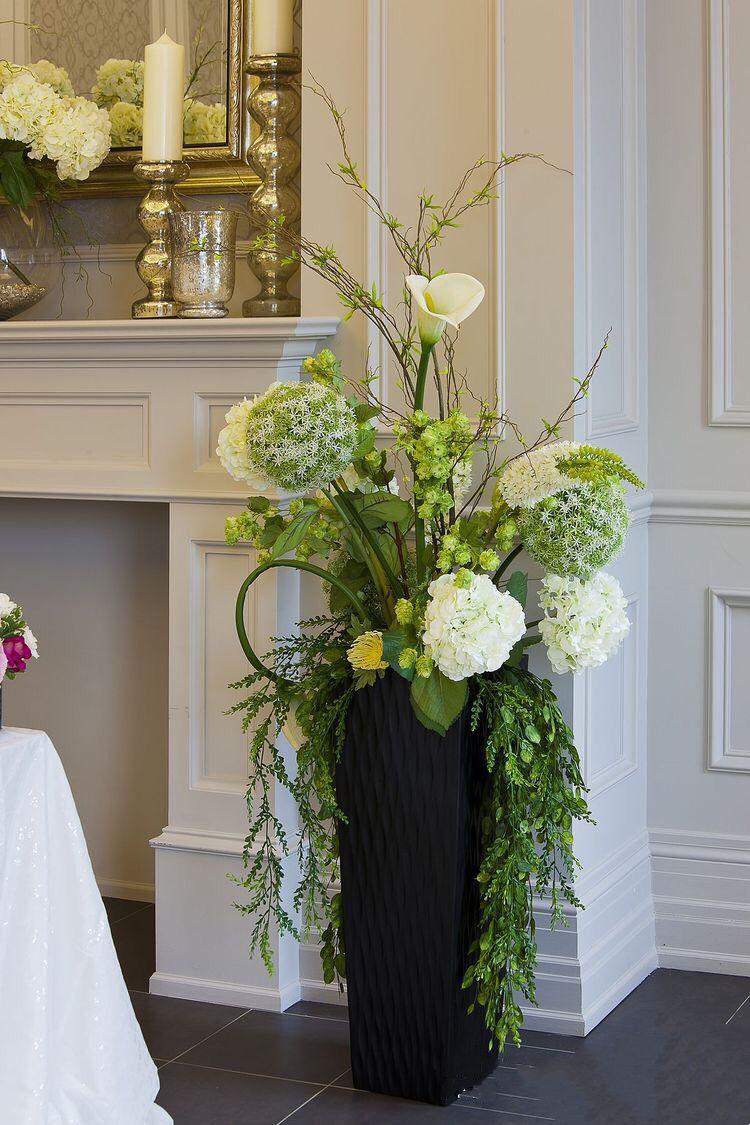 Flower vase arrangements image by 利 杞 on 大堂蚱艺 large
