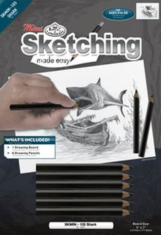 Sketching Made Easy Mini Kit - Shark