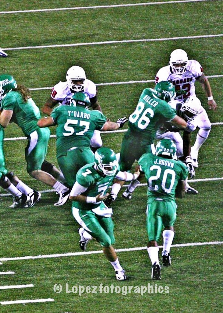 Go Mean Green! I can't wait for the first game against The