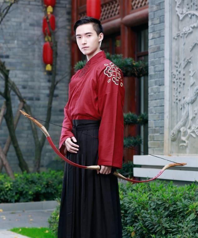 53c6b28e1 Traditional Chinese Ancient Hanfu Swordsman Costumes, Asian China Han  Dynasty Kawaler Embroidery Clothing for Men
