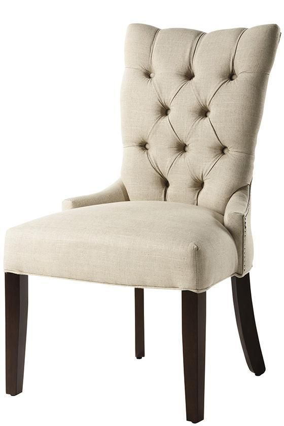 Custom Tufted Back Dining Chair Home Decorators 235 W X 185 D
