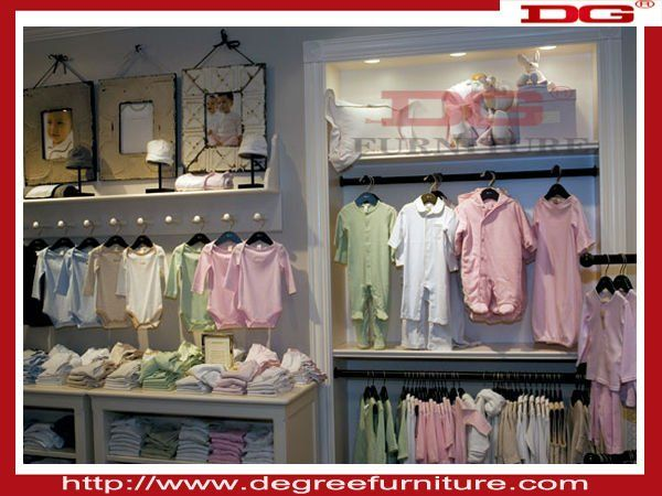 2046b124 kid clothes shop furniture design with MDF or glass or acrylic ...