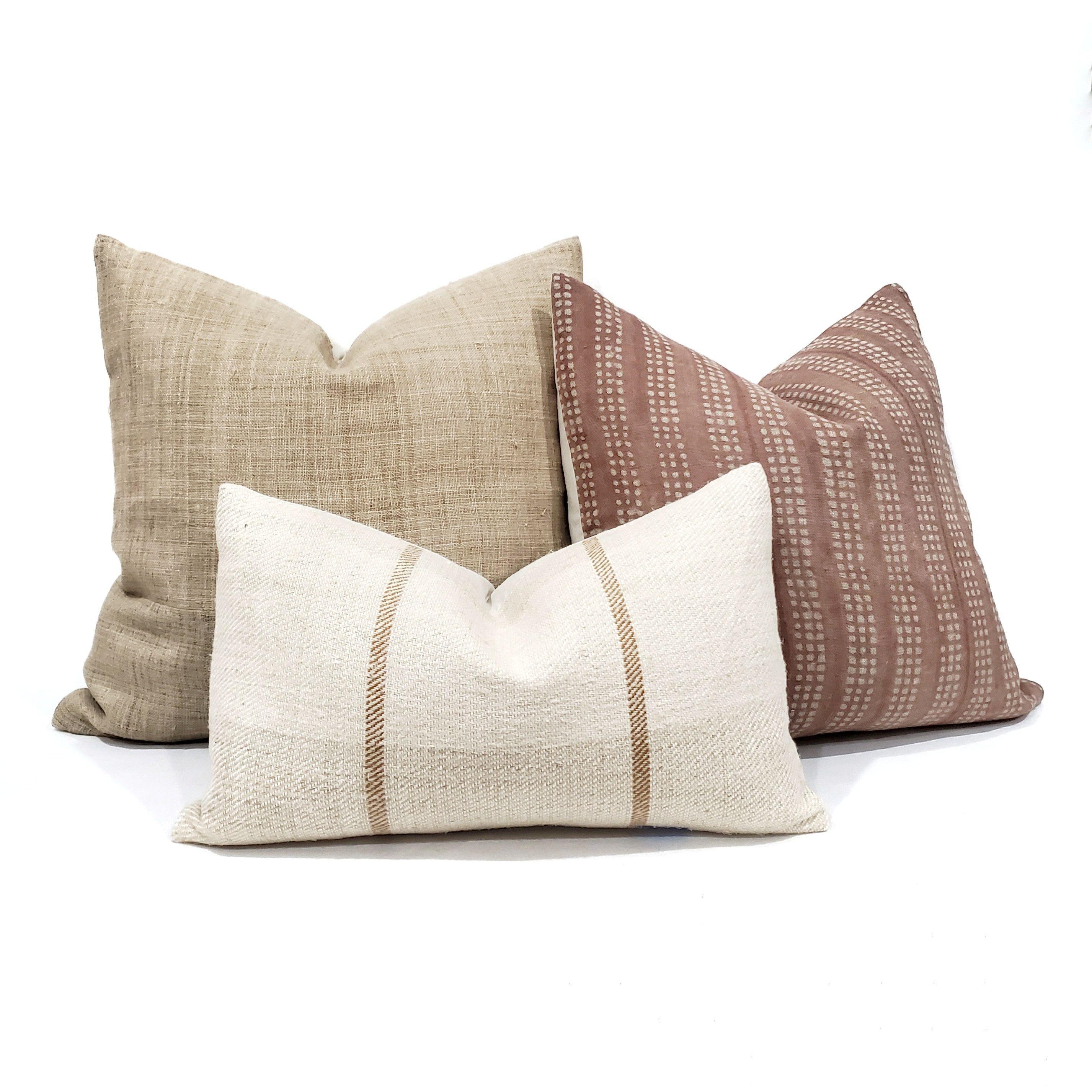 pillow case linen pillow cover