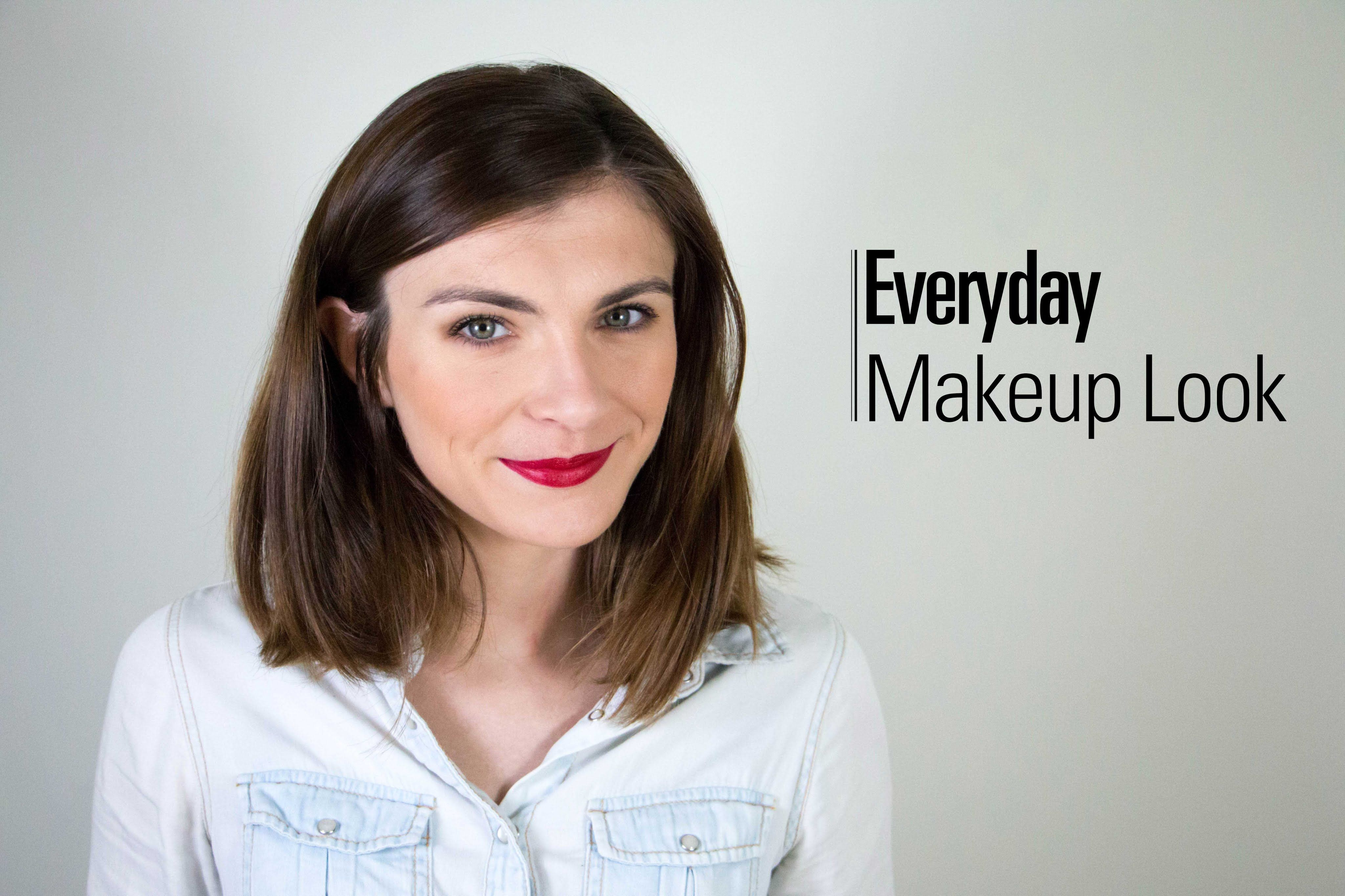 ♢♢ Everyday Makeup Look   Makeup looks, French women makeup
