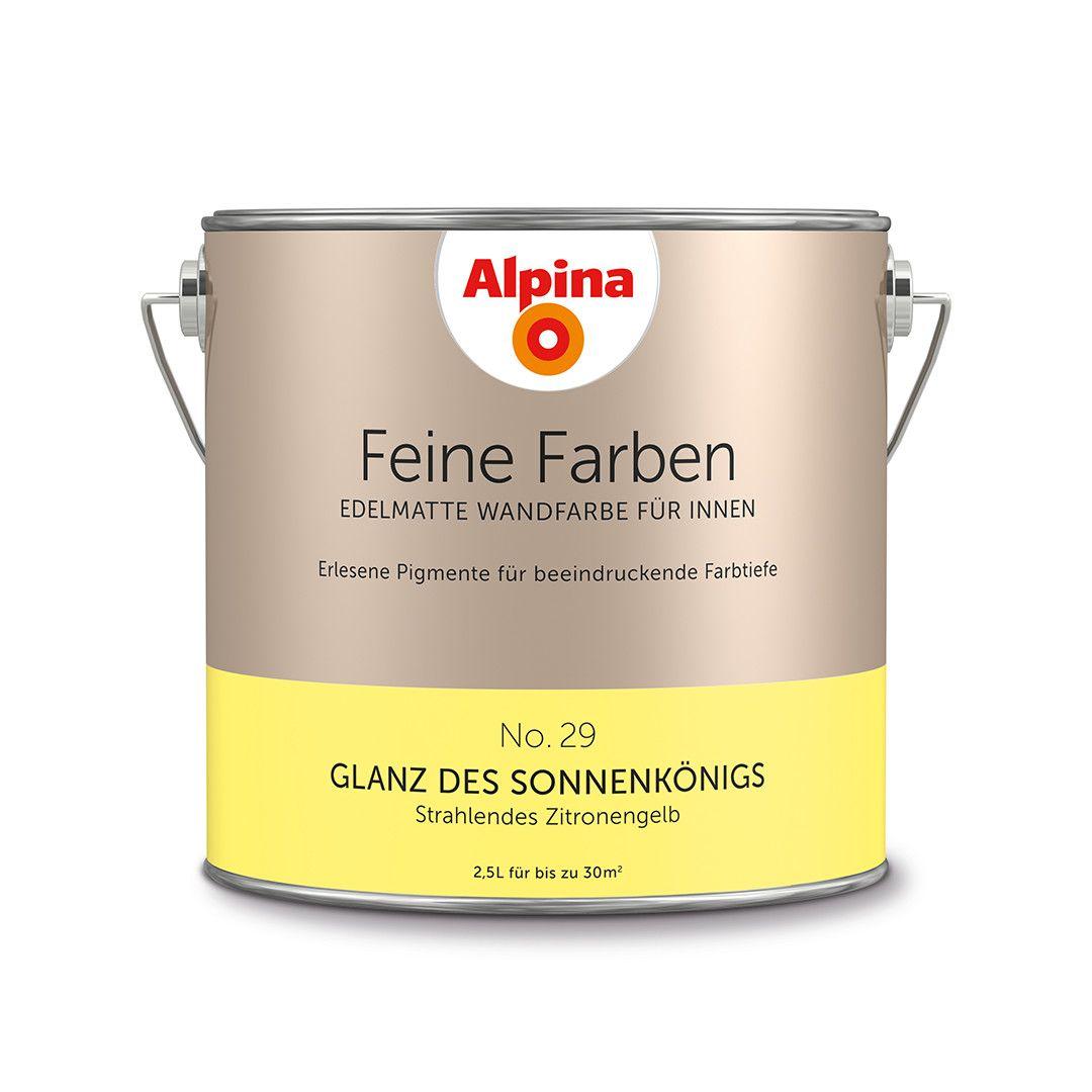 Alpina Feine Farben No. 29 – Glanz des Sonnenkönigs. #Design #DIY #Farbe…