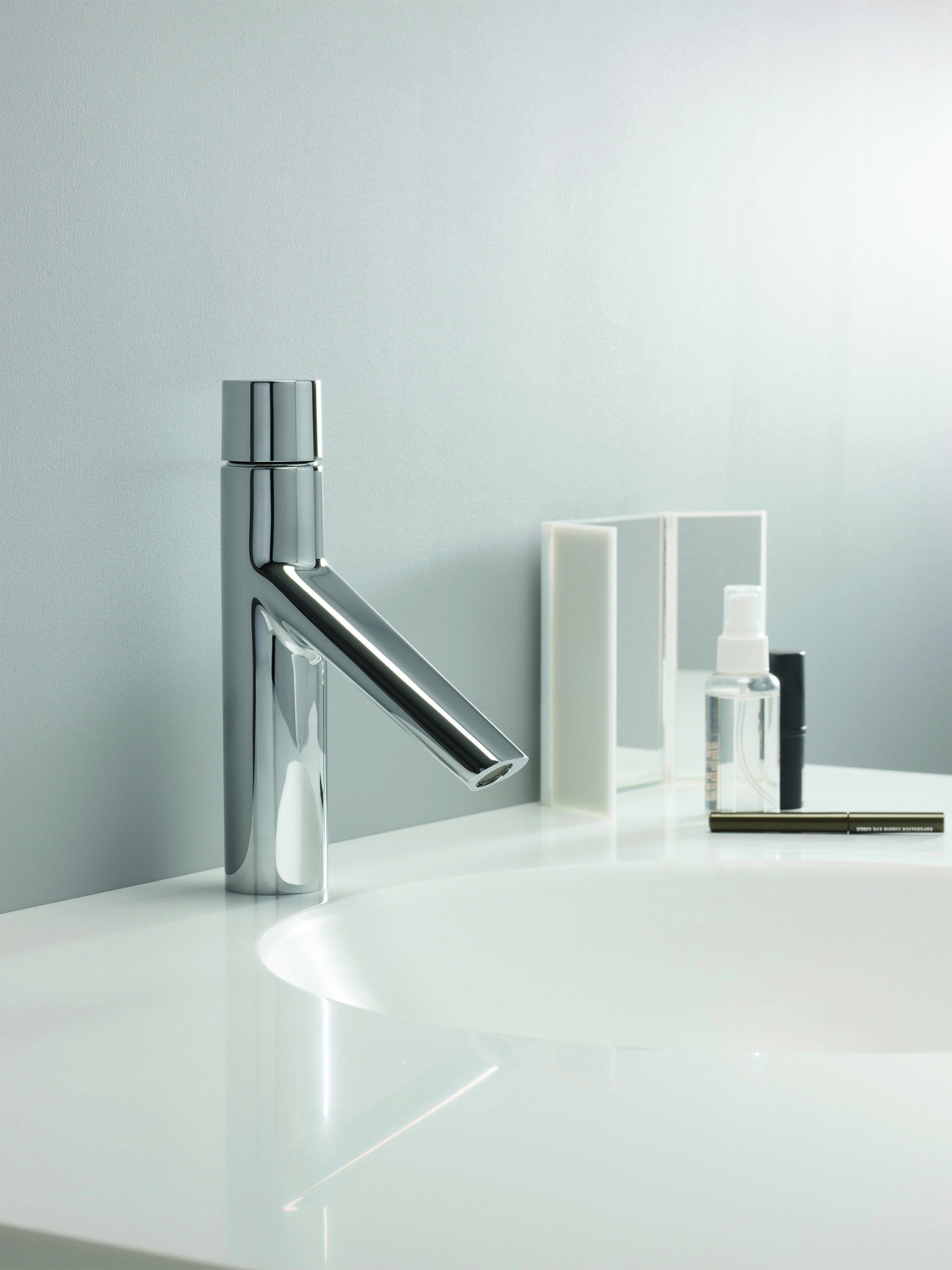 Bold Monobloc Bathroom Basin Tap from Crosswater http://www.crosswater.co