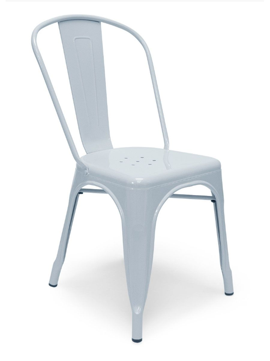 Metal Bistro Chair Light Blue  Cottage Home®  Metal bistro