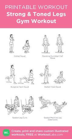 ashley horner free pdf  google search  leg workouts gym