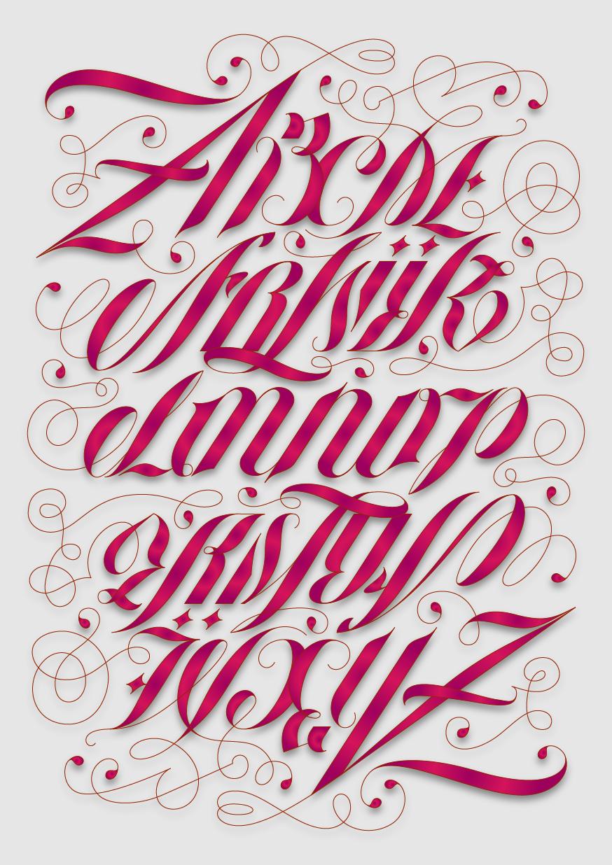 Ambigram Alphabet Lettering styles, Ambigram tattoo
