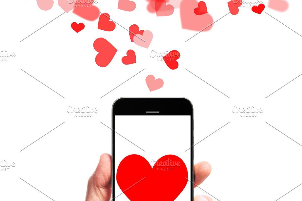 modern smartphone in hand #Sponsored , #ad, #hand#hearts#male#modern