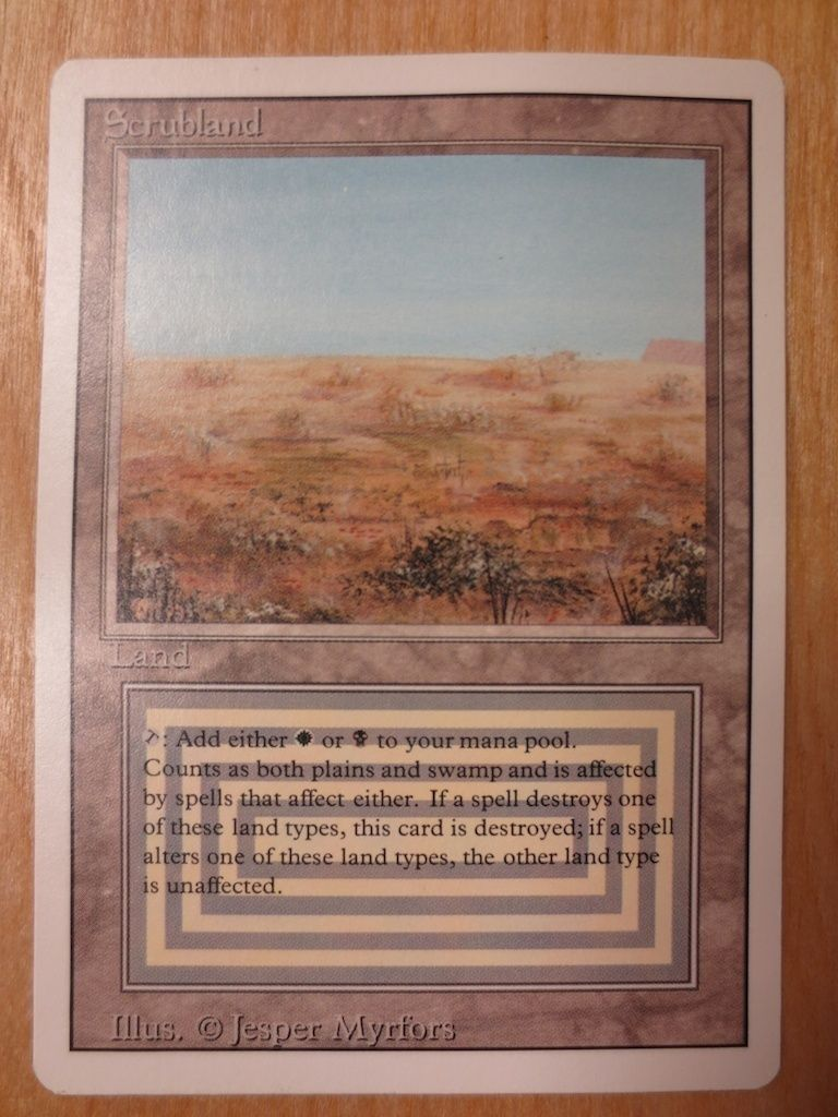 MTG Living Wall 3rd Revised Magic the Gathering NM