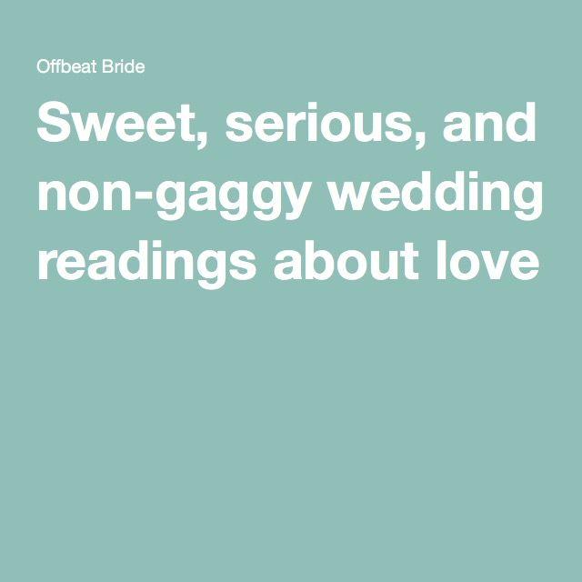 Non Religious Wedding Reading: Pin On Quotes / Readings