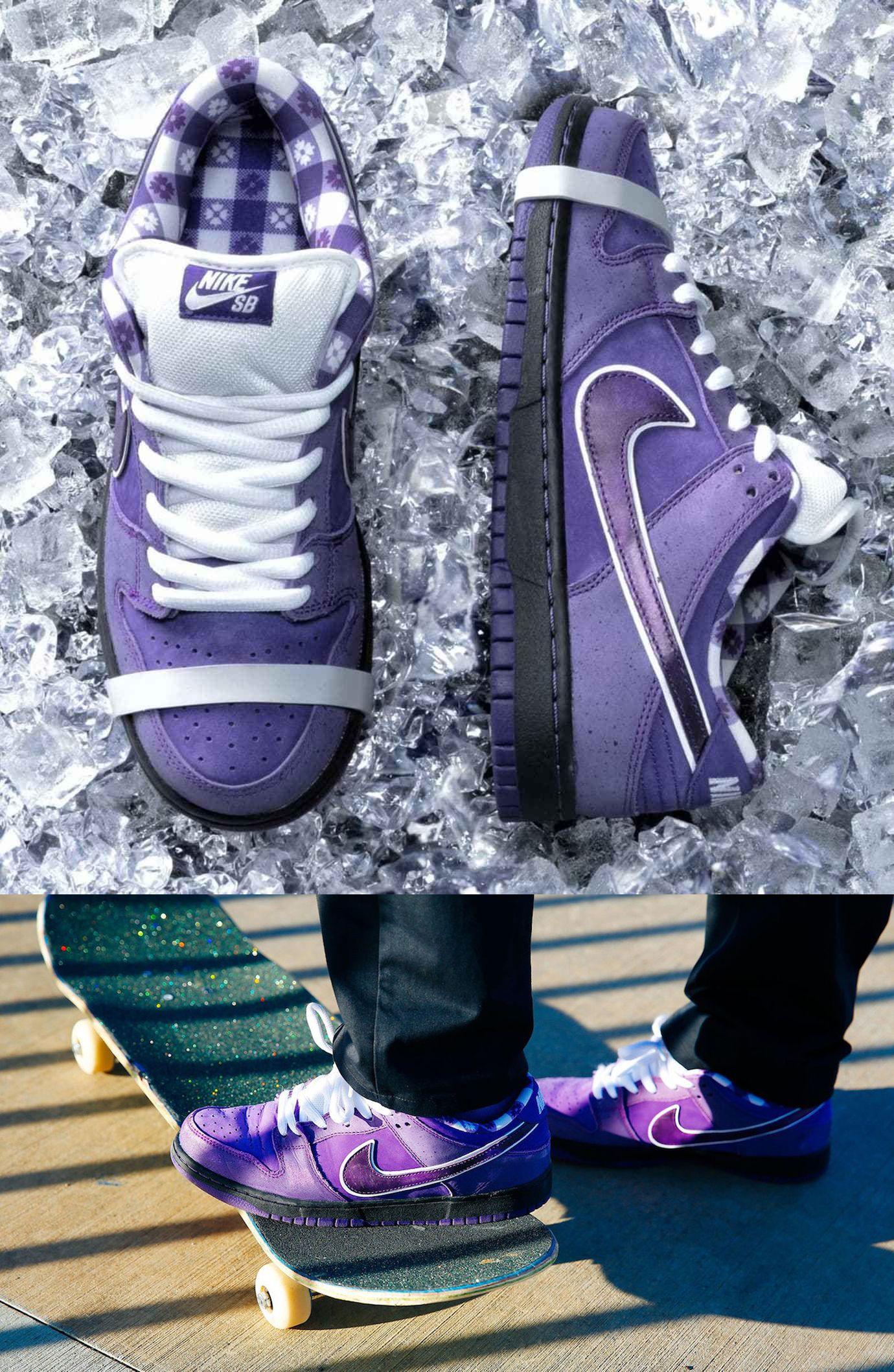 "hot sale online 1c0ce f188b Concepts x Nike SB Dunk Low ""Purple Lobster"" | Kicks in 2019 ..."