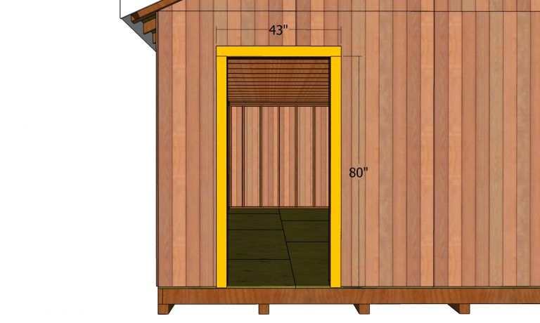 12x24 Gable Shed Roof Free Pdf Download Howtospecialist How To Build Step By Step Diy Plans In 2020 Roof Trim Diy Plans Shed