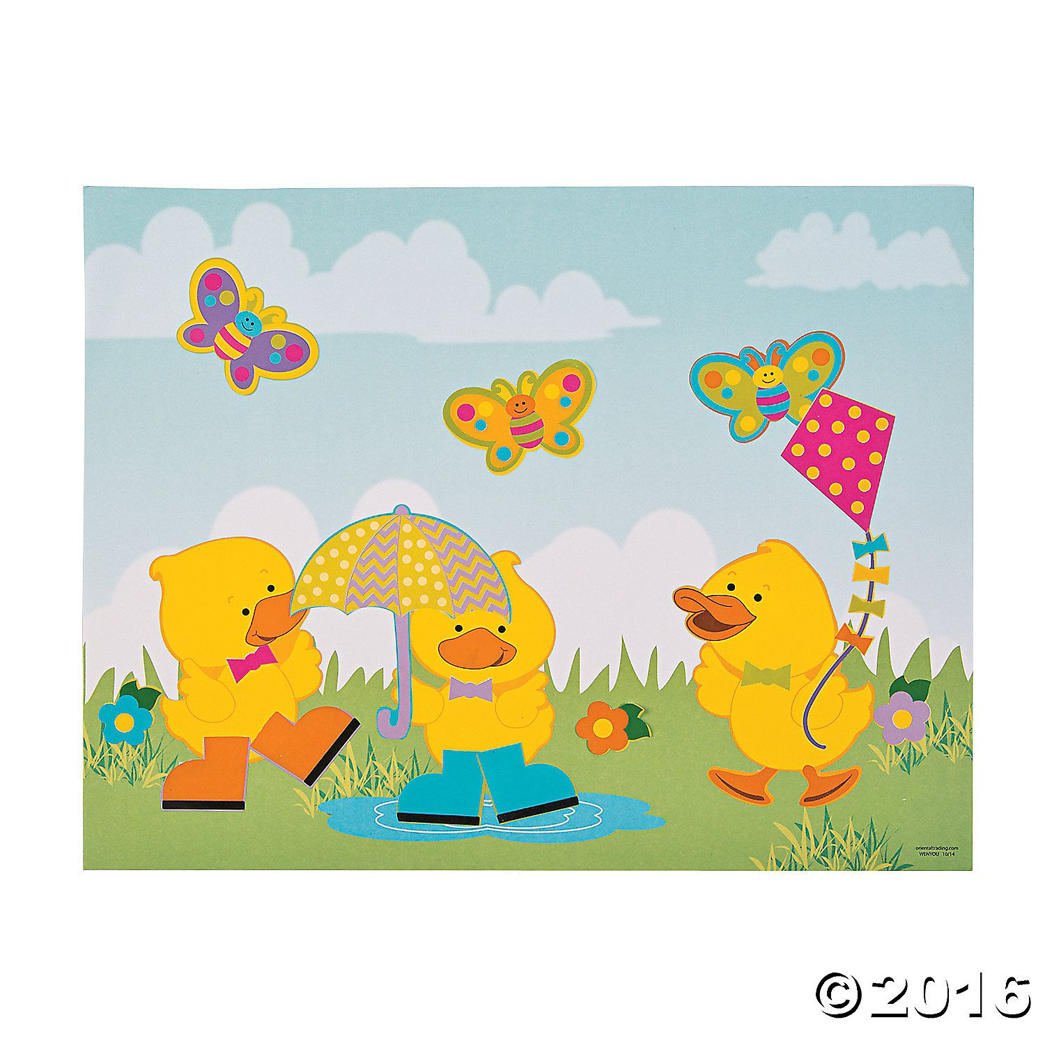 Create Your Own Easter Scene With Stickers Use These Just