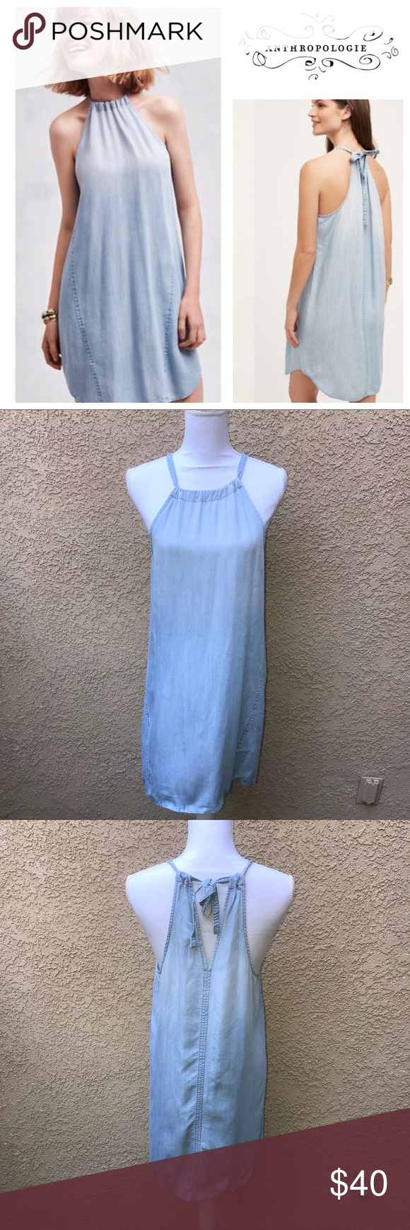 17eea7a998fa [Anthropologie] Cloth + Stone Chambray High Tide Details: ▫️Size: S  ▫️Condition: Pre-Owned, Excellent Condition 📍Ships from Los Angeles, ...