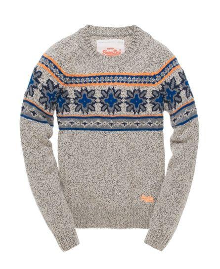 Men's Knit Crew Pinterest Fairisle Superdry Sala qwx7nxatY