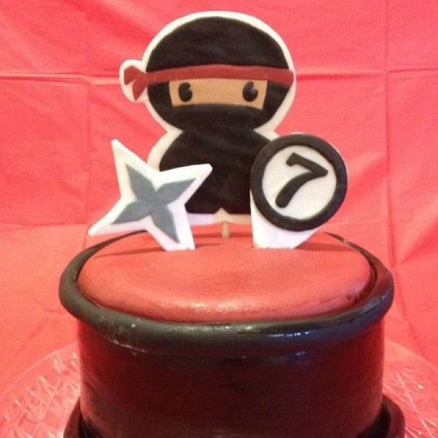 Ninja birthday cake | My Cakes | Ninja birthday parties
