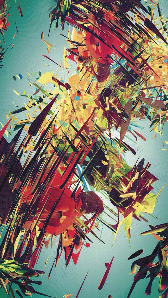 Clever Abstract Iphone Wallpapers For Art Lovers In