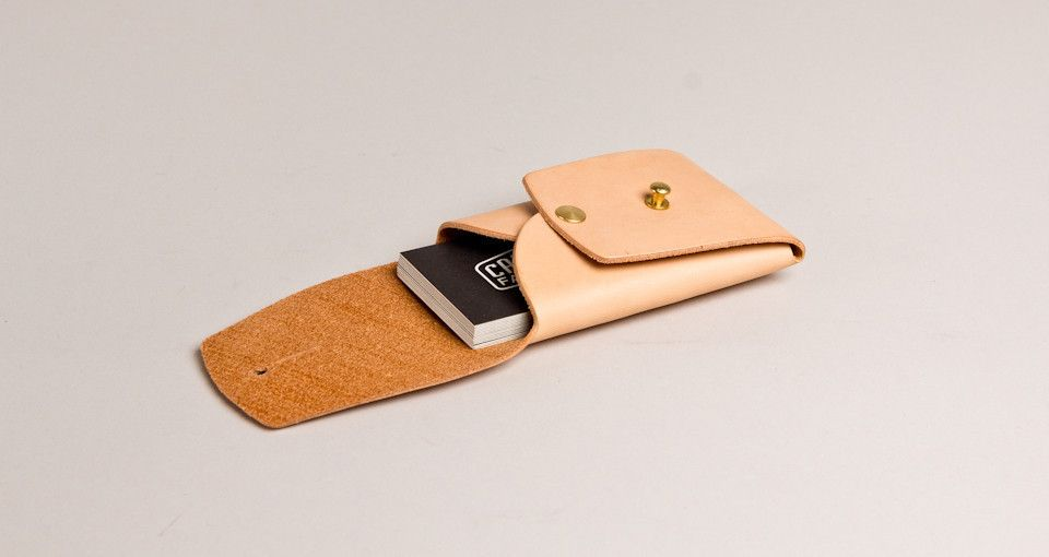 Tanner Goods - business card holder   products   Pinterest ...