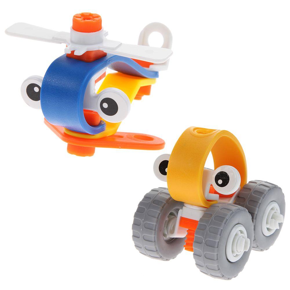 Toys car kids  Kids Animal Block Educational Toys Car Robot DIY Assemble Learning