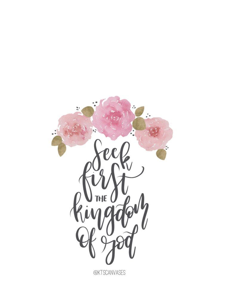 FREE Seek First The Kingdom Of God Wallpaper IPhone Wallpapers Cute