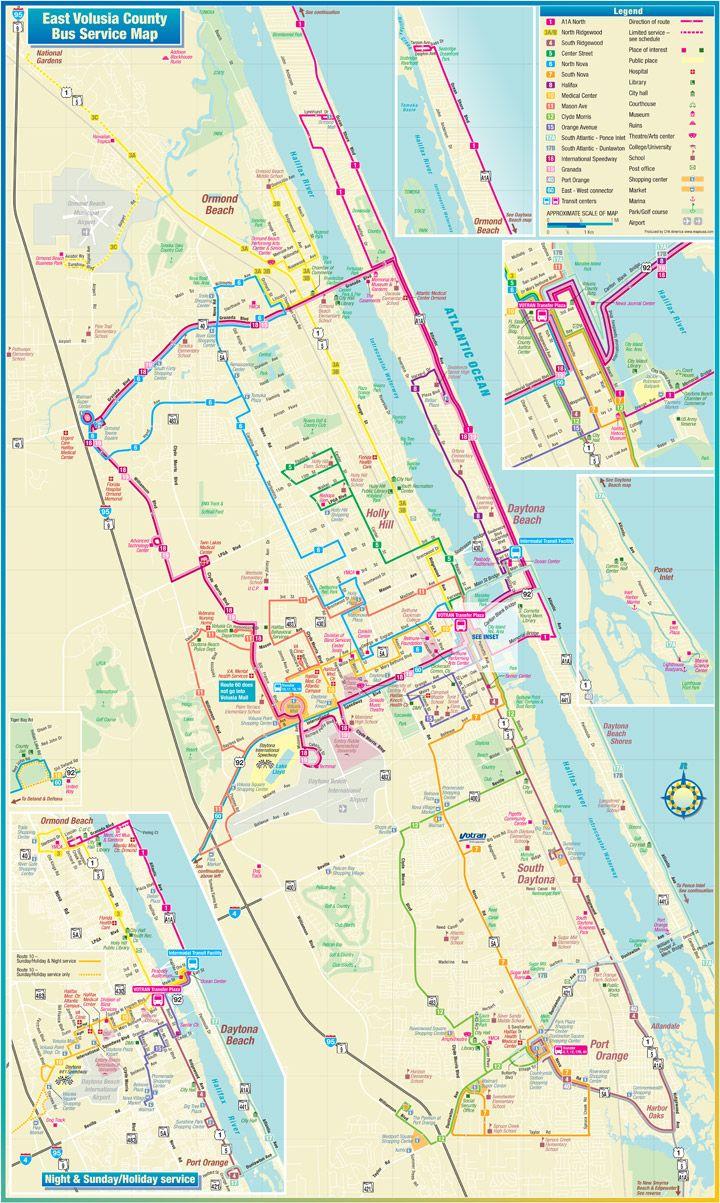 Daytona Speedway Weather Map.Daytona Beach Route Map Travel Pinterest Daytona Beach Beach