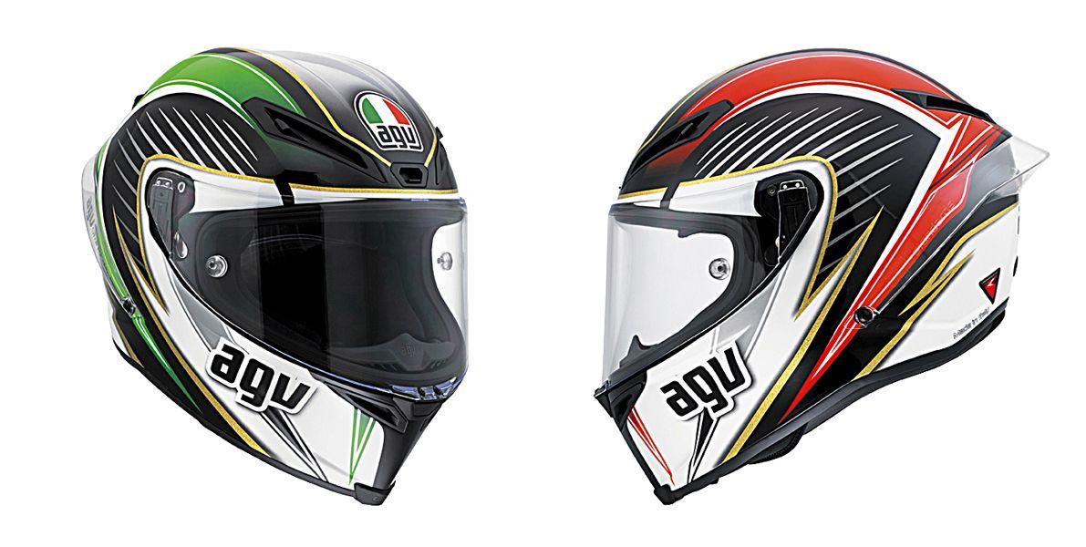 Agv Corsa Racetrack Motorcycle Gear Race Track Helmet